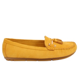 Loafers yellow L7183 Yellow