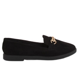 Women's loafers black 1631-123 Black