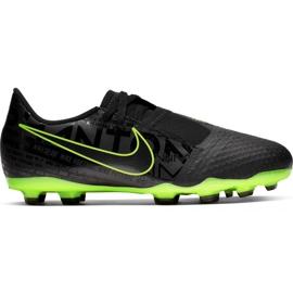 Football shoes Nike Phantom Venom Academy Fg Jr AO0362 007 black - green