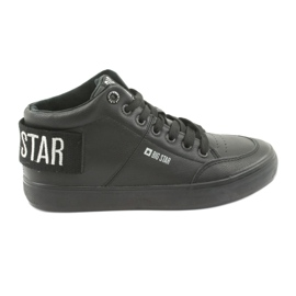 High Black Sneakers Big Star 274351