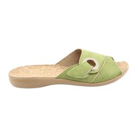 Befado women's shoes pu 265D008 green