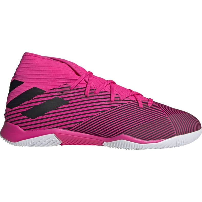 Football boots adidas Nemeziz 19.3 In M F34411 pink black grey