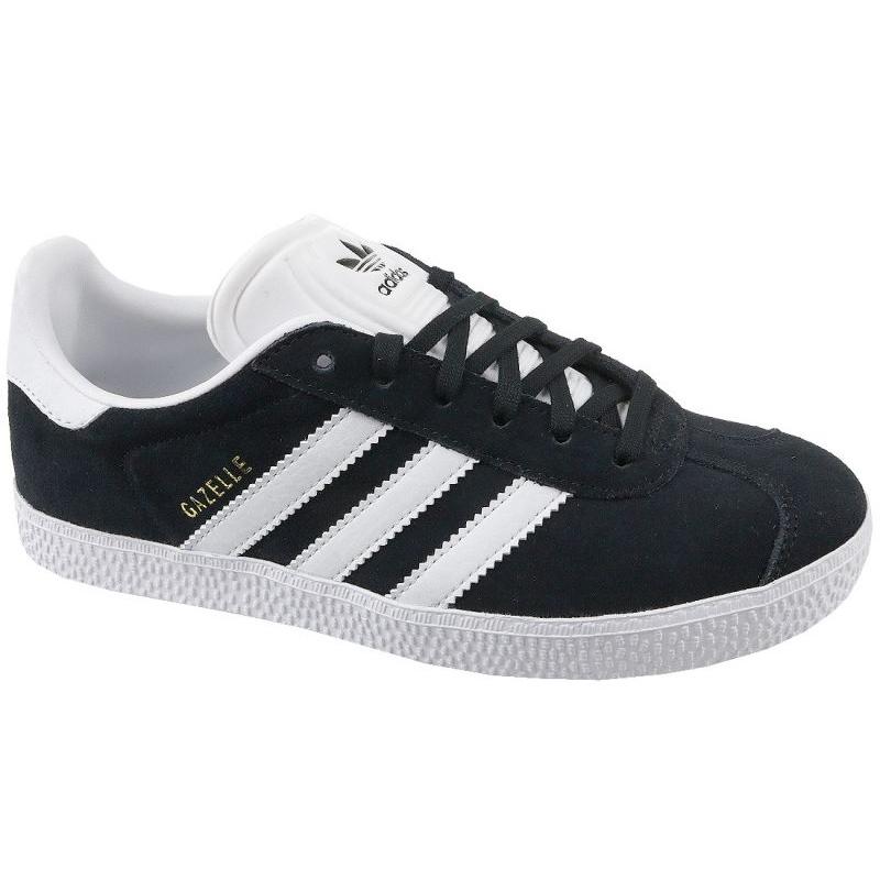 Adidas Gazelle Jr BB2502 shoes black - KeeShoes