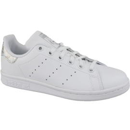 White Adidas Stan Smith Jr EE8483 shoes