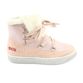 Big Star 374080 pink powder boots