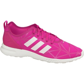 Adidas Zx Flux Adv Smooth W Shoes S79502 pink