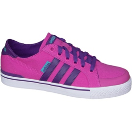 Pink Adidas Clementes K Jr F99281 shoes