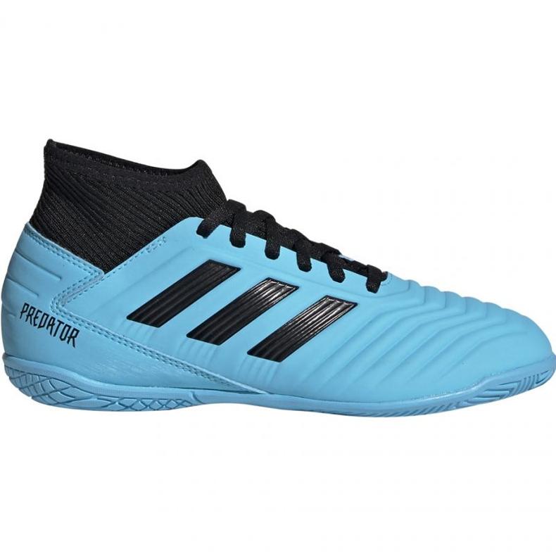 Football boots adidas Predator 19.3 In Jr G25807 blue