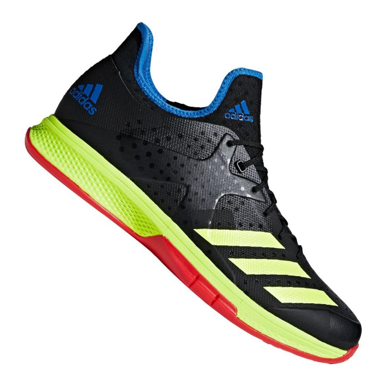 Adidas Counterblast Bounce M BD7408 handball shoes black multicolored