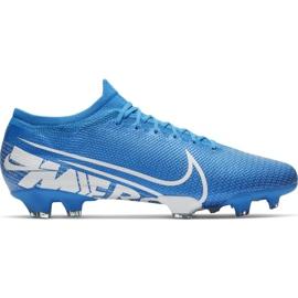 Nike Mercurial Vapor 13 Pro Fg M AT7901 414 Football Shoes. Blue