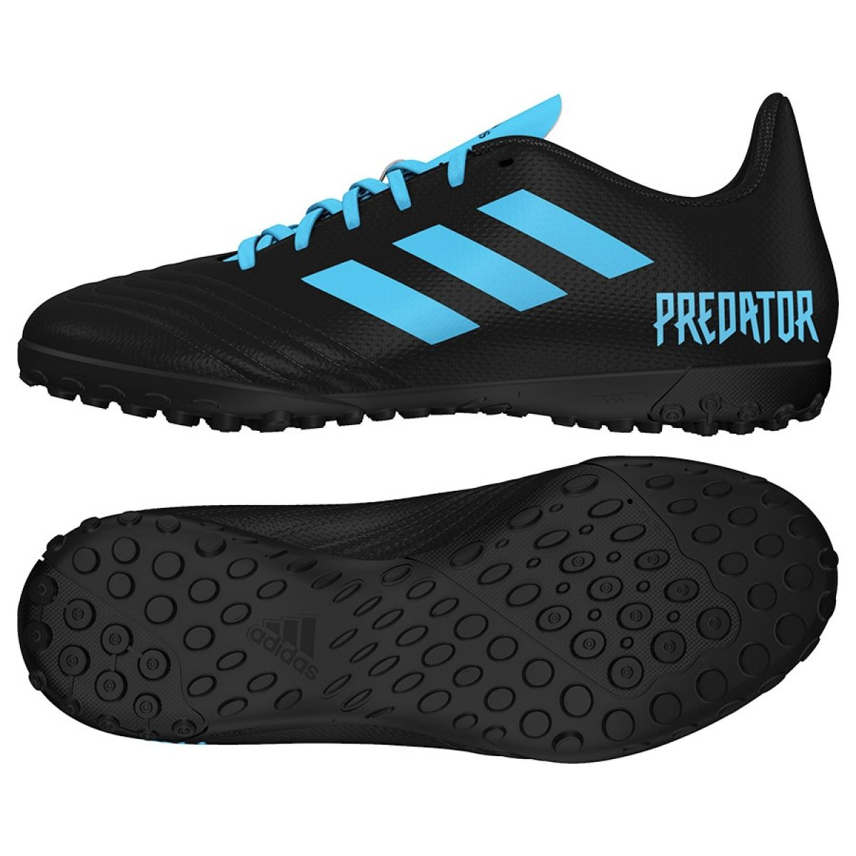 diseño Ostentoso Soldado  Football boots adidas Predator 19.4 Tf Jr G25826 black multicolored -  ButyModne.pl