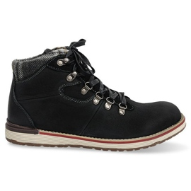Insulated High Boots Shoes SH23 Black