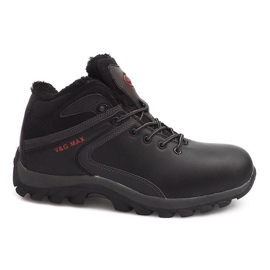 Insulated Snow Boots M2379A-1 Black
