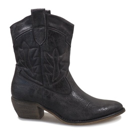 Grey Gray cowgirl boots 10601-1