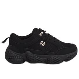 Black G-222 Black sports shoes