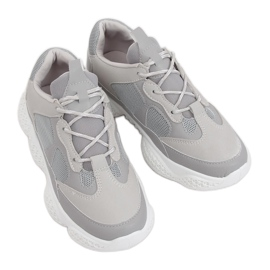 Grey Gray G-200 Gray sports shoes