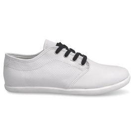 Black Men's sneakers 5307 White