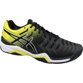 Black Tennis shoes Asics Gel-Resolution 7 Clay M E702Y-003