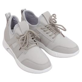 Grey Gray sport shoes X-9762 Gray