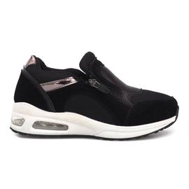 Black sports sneakers Nicoline