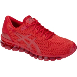 Running shoes Asics Gel-Quantum 360 Knit 2 M T840N-602 red