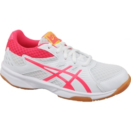 Volleyball shoes Asics Upcourt 3 Gs Jr 1074A005-104 white white