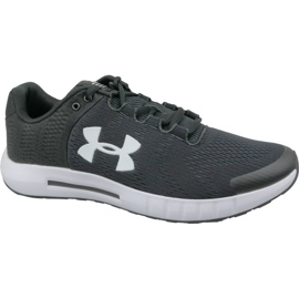 Under Armour black Under Armor Micro G Pursuit Bp M 3021953-001 running shoes