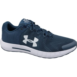 Under Armour navy Under Armor Micro G Pursuit Bp M 3021953-401 running shoes