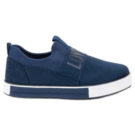SHELOVET Suede Slip Shoes