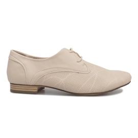Beige shoes Jazz Simone brown