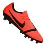 Nike Phantom Vnm Pro AG-Pro M AO0574-600 football shoes orange orange