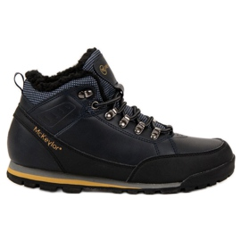MCKEYLOR Warm Walking Shoes blue