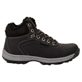Ax Boxing black Insulated Trekking Shoes