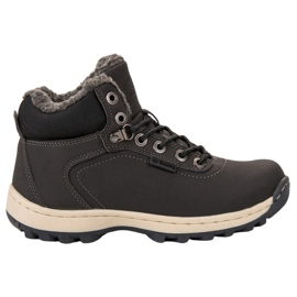 Ax Boxing grey Insulated Trekking Shoes