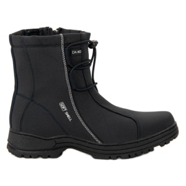 Ax Boxing Black Snow Boots