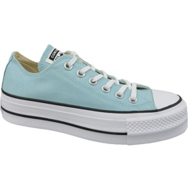 Blue Converse Chuck Taylor All Star Lift W 560687C shoes