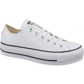 White Converse Chuck Taylor All Star Lift Clean Ox W 561680C
