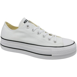 White Converse Chuck Taylor All Star Lift W 560251C shoes