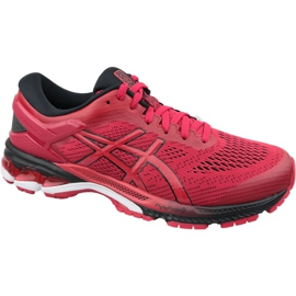 Asics Gel-Kayano 26 M 1011A541-600 running shoes red