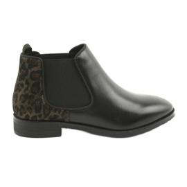 Black Boots Jodhpur Caprice 25327 black