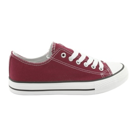 Lace-up sneakers Atletico CNSD-1 burgundy