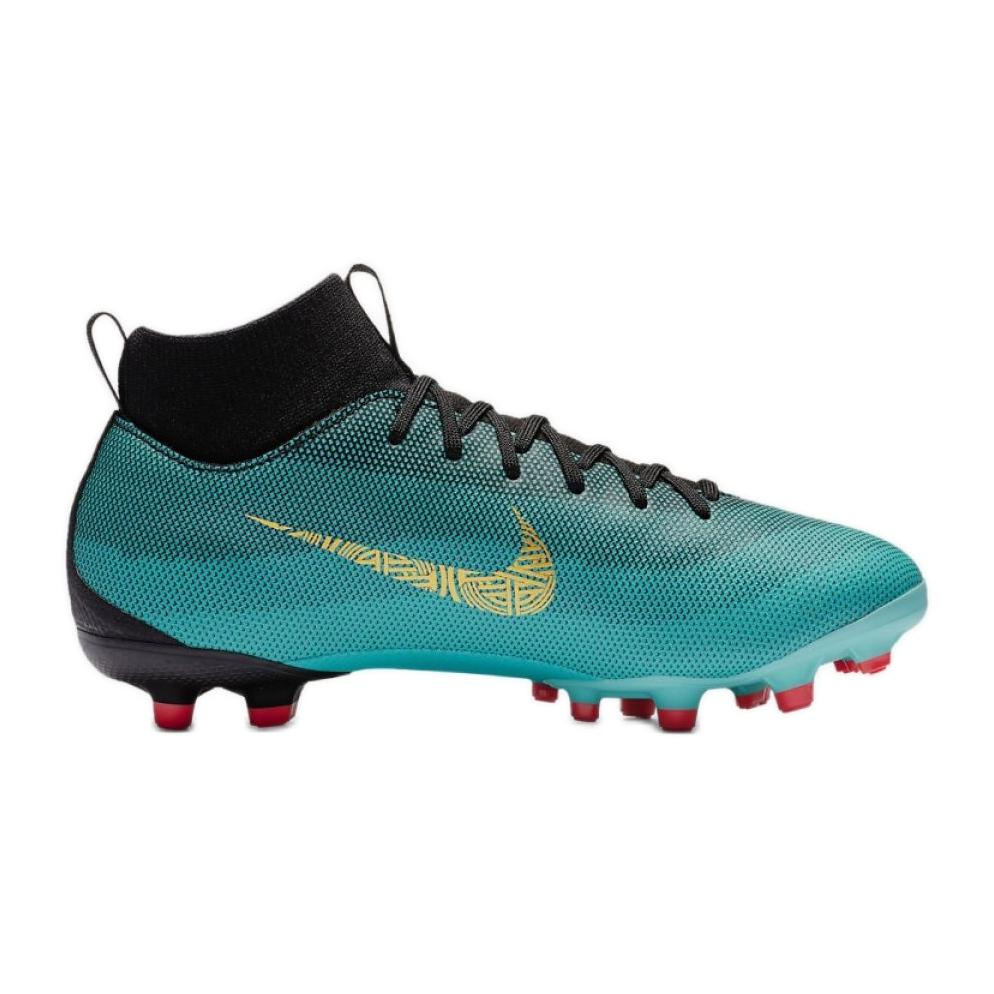 uk availability 94b0a 1d6b2 Nike Mercurial Superfly 6 Academy Gs CR7 Mg Jr AJ3111-390 football shoes