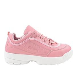 Pink sport footwear sneakers GL808