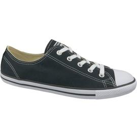 Black Converse Ct All Star Dainty Ox W 530054C