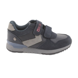 Big star 374084 navy blue sports shoes grey