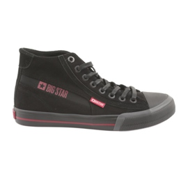 Black Big Star 174084 sneakers red