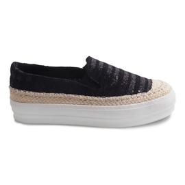 Espadrilles GH001 Black Sneakers