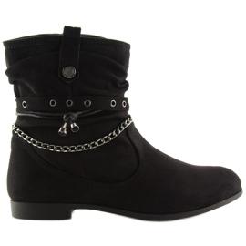 Ankle boots black 3767 Black