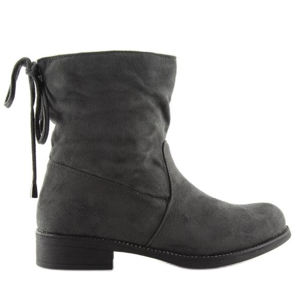 Women's shoes gray 7378-PA Gray grey