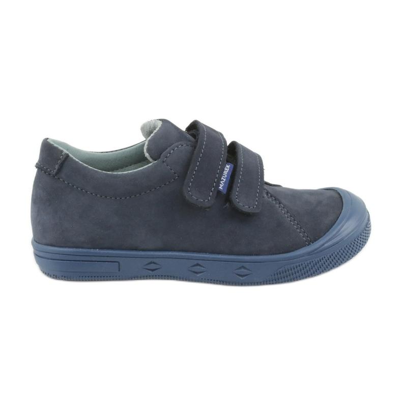 Boys' shoes Mazurek 1267 navy blue
